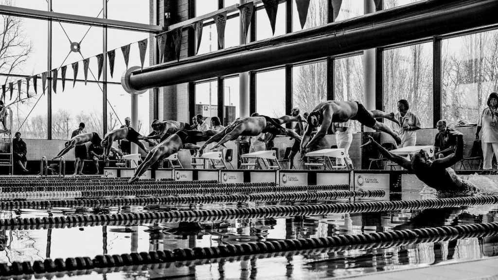 Masters swimming documentary photography