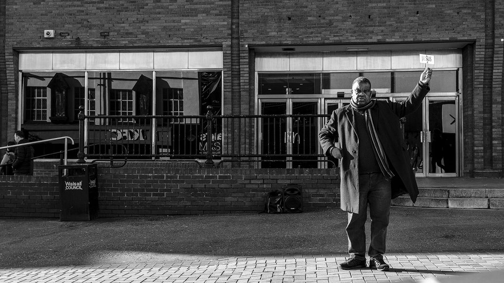 Walsall Preacher by Russell Goffe-Wood